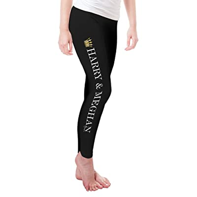 TWISTED ENVY Meghan and Harry The Royal Wedding Women's Novelty Leggings