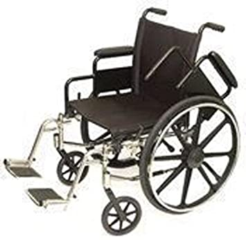 Drive medical cruiser ii standard hemi wheelchair.