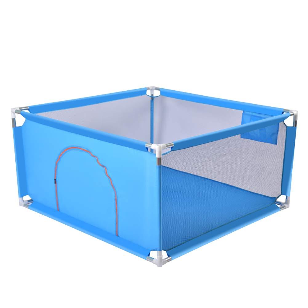 新品同様 ベビーサークル, 携帯用子供の安全柵、マットが付いている4つのパネルの赤ん坊のベビーサークル、子供の赤ん坊の屋内屋外の安全ゲームの塀 (色 With : 青, ベビーサークル, サイズ さいず balls) : With 100 balls) With 100 balls 青 B07MMLWZKV, 山陽町:ab640f5f --- a0267596.xsph.ru