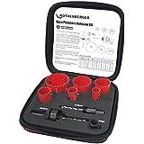 Rothenberger 114202 Lot de scies cloche pour plombiers 19-22-29-38-44-57mm