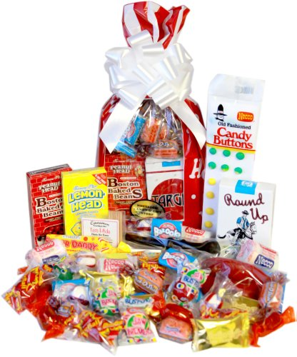 Sweet Holiday Memories Retro Candy - Candy Christmas