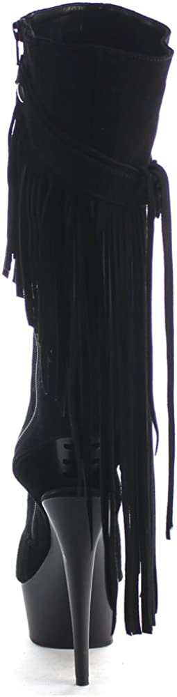 Pleaser Womens Delight-2020 Knee-High Boots