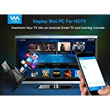 Viaplay Via-TV T2 Quad Core Bluetooth Android TV box Smart mini PC stick dongle XBMC-Kodi 16.1 Jarvis fully loaded HDMI streaming Home media player