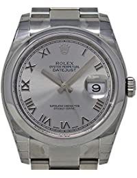 Datejust Swiss-Automatic Male Watch 116200 (Certified Pre-Owned)