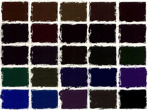 Girault Dark Set of 25 Soft Pastels by Girault