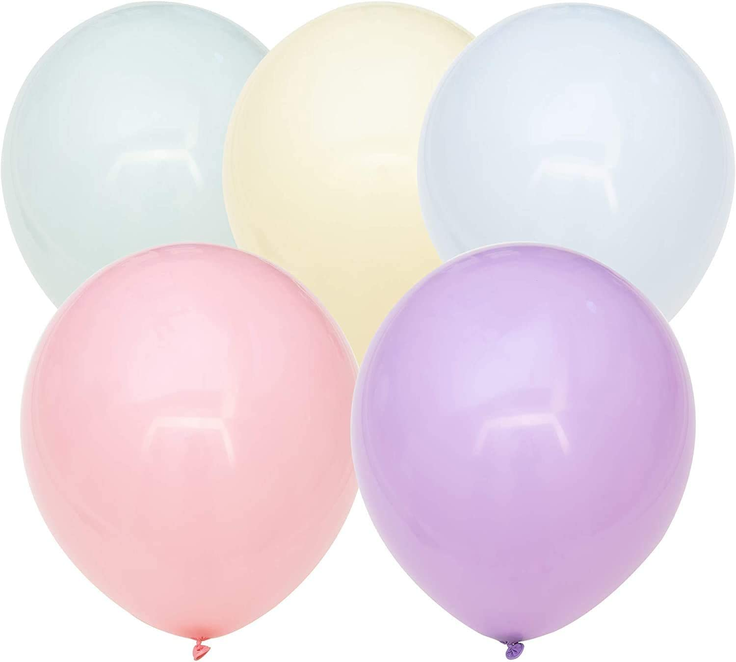 1000pz balloons Expandable 260 multicoloured balloons Birthday Puffy up 1m