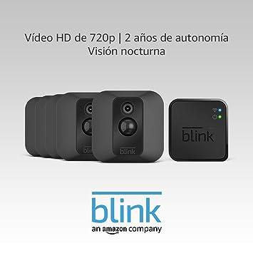 Blink XT Sistema de cámaras de seguridad con detección de movimiento, instalación en paredes,