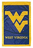 West Virginia University - 28'' x 44'' Double Sided Appliqued NCAA Banner