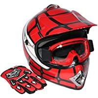 XFMT Youth Kids Motocross Offroad Street Dirt Bike Helmet...