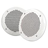 FUSION 6-½'' Round 2-Way Speakers - 200W - (Pair) White