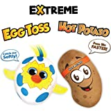 Move2Play Extreme Electronic Games Easter Party Pack - Includes Hot Potato and Egg Toss, Bundle Set