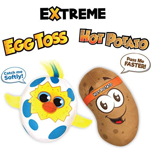 51KDku86hrL - Move2Play Extreme Electronic Games Easter Party Pack - Includes Hot Potato and Egg Toss, Bundle Set