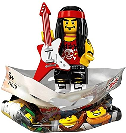 Lego Serie Ninjago Movie Rockero con gong y guitarra