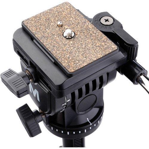 Magnus VT-300 Video Tripod with Fluid Head