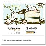 Amazon eGift Card - Happy Birthday (Birds)