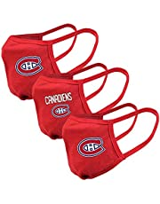 Youth Montreal Canadiens NHL 3-Pack Reusable Team Logo Face Masks