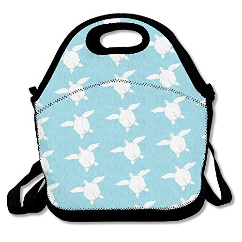 (Preview Wallpaper Turtle Lunch Bag Tote Handbag Lunchbox Food Container Tote Cooler Warm Pouch For School Work Office)