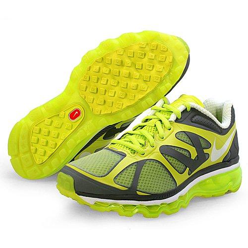 Nike Air Max 20 zapatos de entrenamiento de Big Kids Sport CYBER/WHITE-COOL GREY-WLF GREY