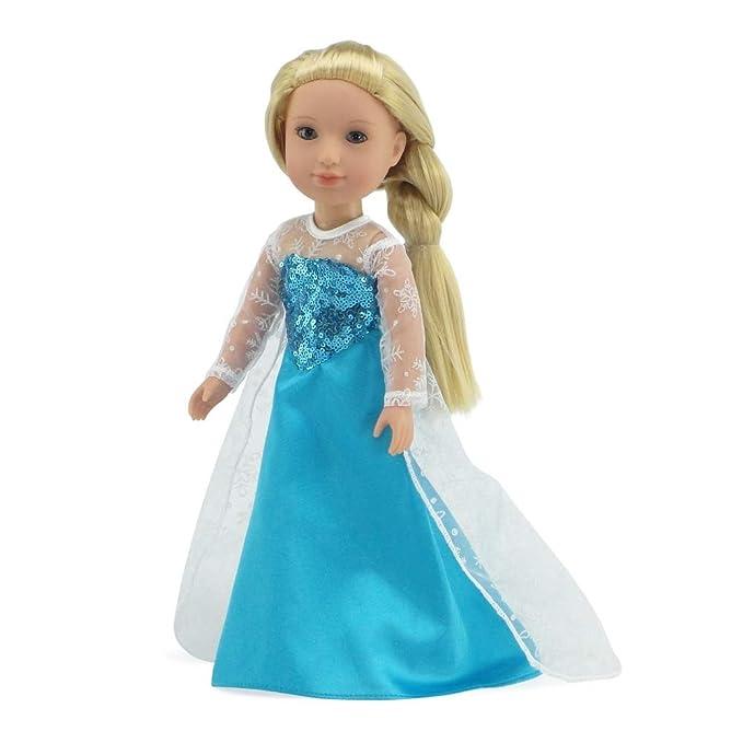 Amazon.com: Emily Rose 14 pulgadas Ropa de muñeca | Princesa ...