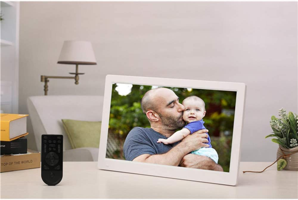 Digital Photo Frame Full Viewing Angle IPS15 Inch Wall-Mounted Advertising Player 1080P HD Video Player