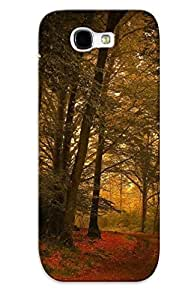 Podiumjiwrp New Arrival Galaxy Note 2 Case Road In The Autumn Forest Case Cover/ Perfect Design