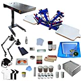 4 Color 2 Station Screen Printing Full Starter Kit