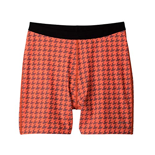 (Terry Mixie Liner - Under-Skirt Under-Short Women Cycling Stretch Bike Liner Shorts, Breathable Quick Dry Active Shorts – Houndstooth – Large)