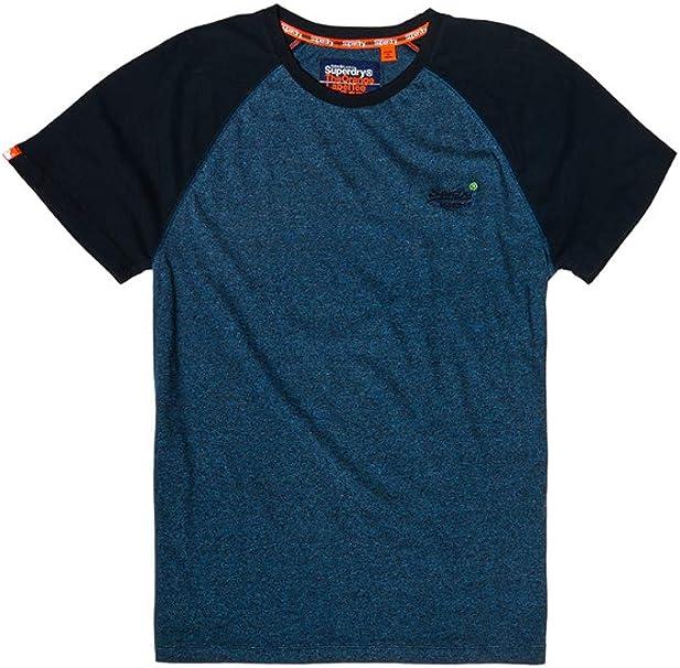 Superdry Orange Label Baseball SS Tee T Shirt Homme