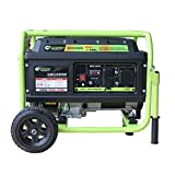 Green-Power America GN5250DW 5250-Watt Propane and Gasoline Powered Dual Fuel Generator, Green