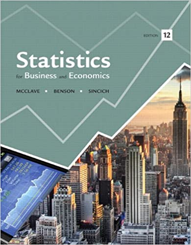 Statistics For Business And Economics Plus NEW MyLab