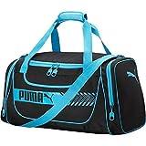 Puma Unisex Axium Duffel, Black/Blue, OS For Sale