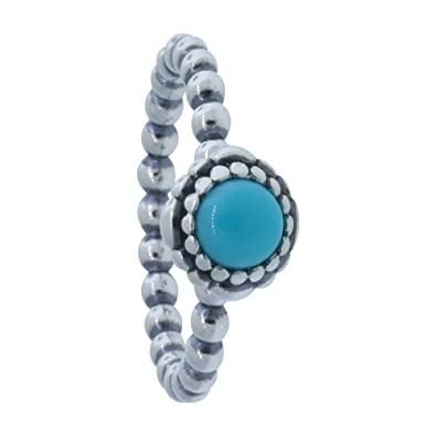 4e442ff98 new style birthday blooms ring december turquoise 6c792 bd370; low price pandora  190854tq 50 december birthday blooms ring d605d 50878