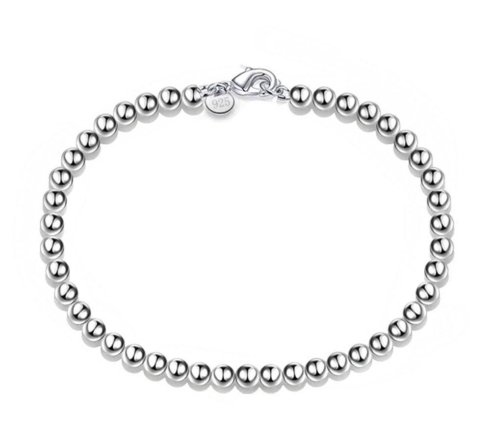 Hosaire Elegante y con estilo Pulsera de Plata de Flor de la Perla Pulseras Nuevo Estilo para Mujeres de la Joyería Accesorios