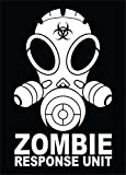 zombie laptop decal - Zombie Response Unit Vinyl Decal Sticker|Cars Trucks Vans Walls Laptops|WHITE|7 In|KCD590