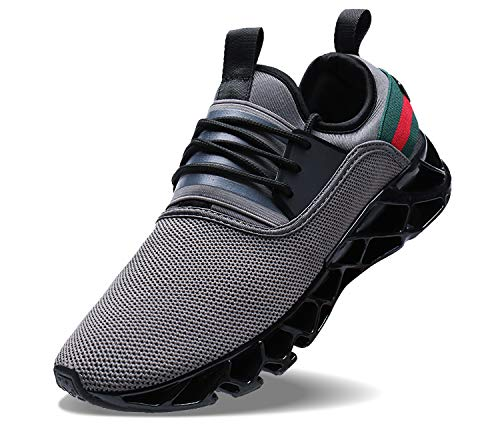 Mens Walking Tennis Shoes Running Athletic Fashion Blade Sneakers (2 Mens 9 Shoes Tennis 1 Size)