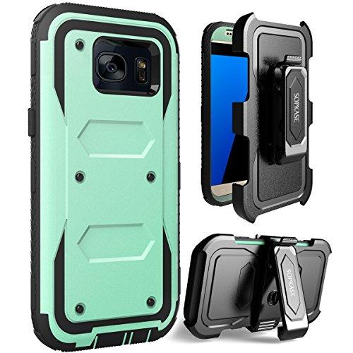 360 Full Hard Plastic Case for Samsung S7 Edge (White) - 2