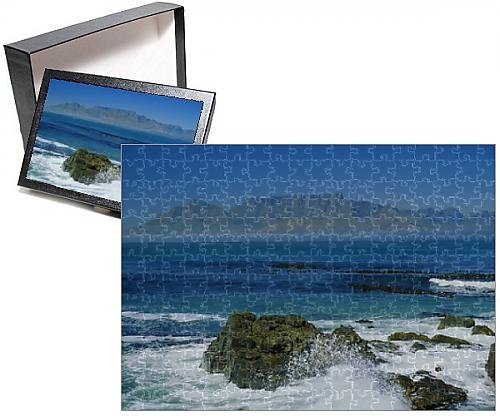 Photo Jigsaw Puzzle of Table Mountain viewed from Robben ...