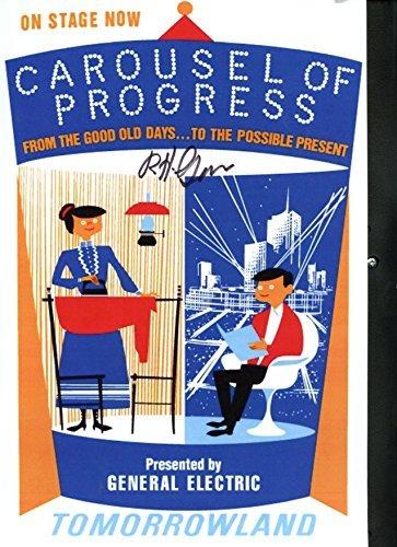 Disneyland Carousel of Progress Attraction Poster~ Signed By Designer & Disney Legend Bob Gurr