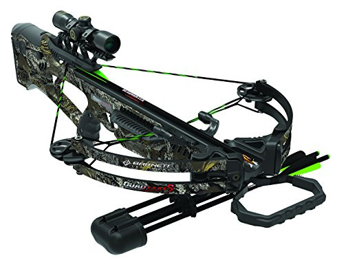 Barnett 350 FPS Quad Edge S Crossbow, Camo Pattern