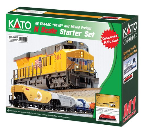 Review Kato N Scale ES44AC