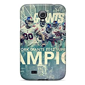 AaronBlanchette Samsung Galaxy S4 Shock-Absorbing Cell-phone Hard Covers Support Personal Customs Lifelike New York Giants Image [oAm11489HRNt]
