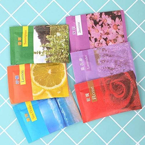 EOPER - 50 bolsitas perfumadas de vainilla para cajones, ropa ...