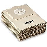 Vmtc Dust Bags For Karcher Wd(3, 3.200) Mv3 Set Of 5 (Beige)