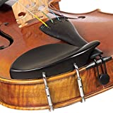 Dresden All-Size Viola Chinrest - Ebony with Standard Bracket