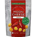Moon Cheese 2 OZ, Pack of Twelve, Sriracha, 100% Cheese and Gluten Free
