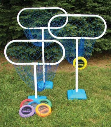 High Disc Golf Target Sets (Includes 6 Targets and 12 Discs) by Olympia Sports