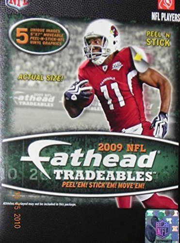 Lunarland FATHEAD 2009 NFL Football Players Trading cArDs Locker Computer Wall Decals NEW