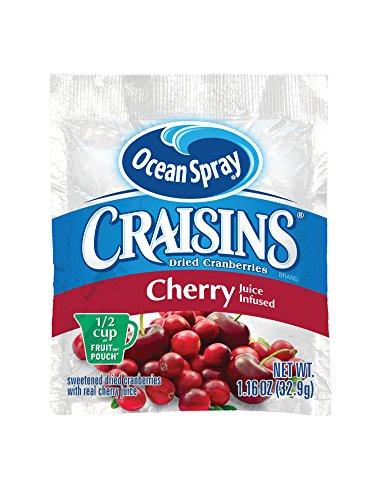 Craisins Ocean Spray Dried Cranberries, Cherry, 1.16 Ounce (Pack of - Cherry 200
