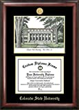 Colorado State Rams Diploma Frame with Limited Edition Lithograph