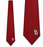 St. Louis Cardinals Ties Mens Diamante Necktie by Eagles Wings